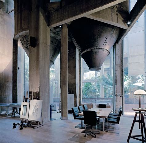 cement factory house a former cement factory is now the workspace and residence of ricardo bofill yatzer