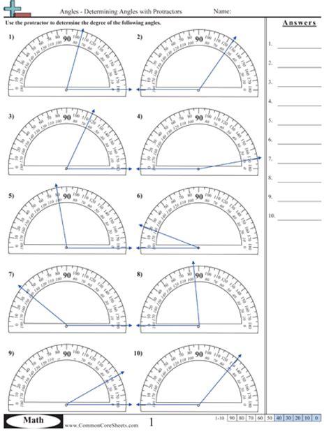 printable protractor practice protractor worksheet worksheets tataiza free printable