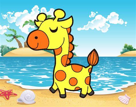 dibujo de jirafa presumida para colorear jirafitas dibujo de jirafa presumida pintado por en dibujos net el
