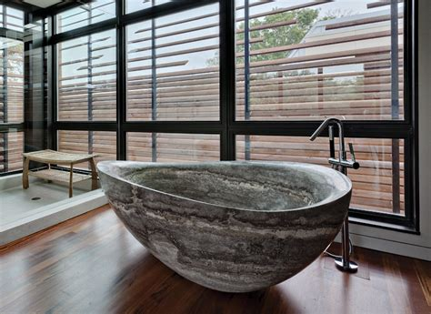 rock bathtub luxurious bathrooms the most stunning natural rock bathtubs