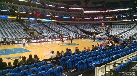 Section 108 I by American Airlines Center Section 108 Dallas Mavericks