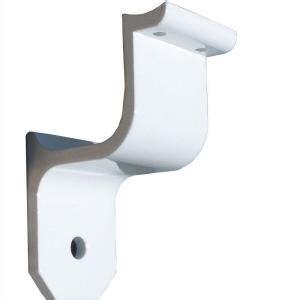 ez handrail 1 9 in aluminum ada handrail white wall