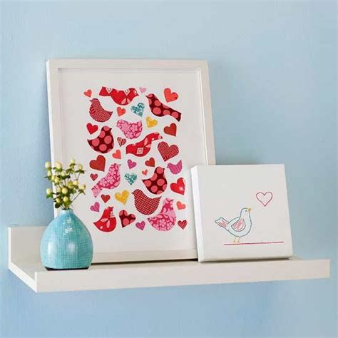 Paper Craft Home Decor - hearts decorations with paper crafts for