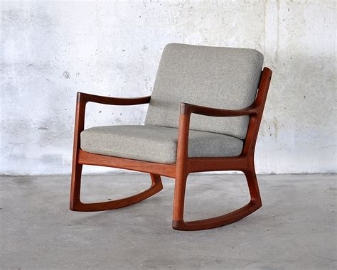 chair modern select modern ole wanscher teak rocking chair