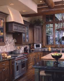Log Home Kitchen Designs by Best 25 Log Home Kitchens Ideas On Pinterest Log Cabin