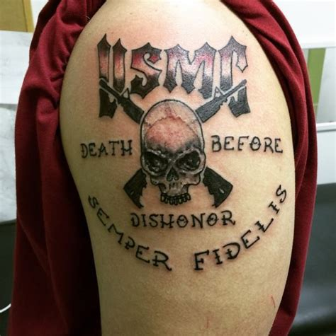 can you have tattoos in the marines 50 patriotic united states marine corps tattoos ideas