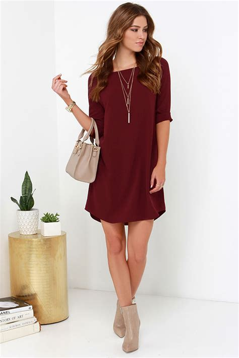 chagne colored wedding shoes bb dakota devin dress burgundy dress shift dress 79 00