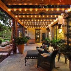 Patio Cover Lights The Lights On This Porch Yard Ideas