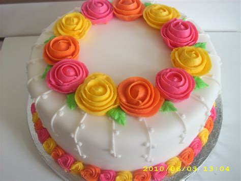 Decorated Cake Ideas by Cake A Thon Decorating Basics Wilton Method Course