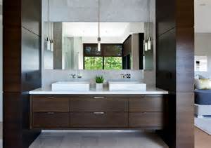 Floating Vanity Units Prestigieuse Maison Moderne Avec Vue Sur La Mer 224
