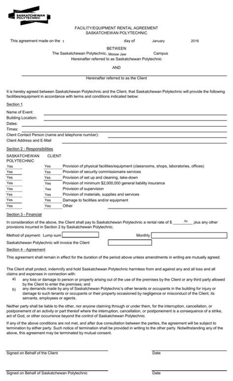 saskatchewan rental agreement template saskatchewan rental agreement for free formtemplate