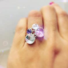Aqua Blue Poetic Droplet Ring P 999 purple poetic droplet ring