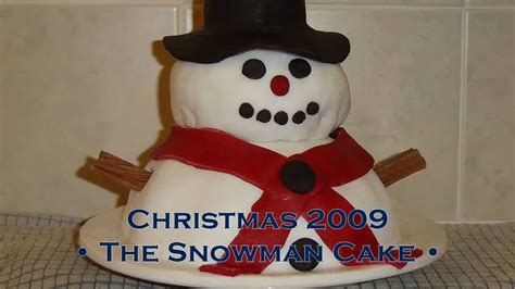 How To Make A 3d Snowman Out Of Paper - 3d snowman cake