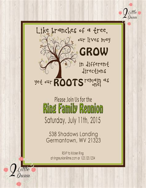Family Reunion Invitation Card Templates 34 family reunion invitation template free psd vector