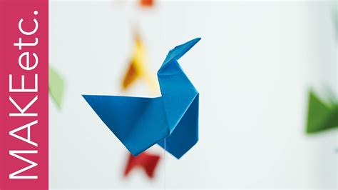 Make A Paper Mobile - arca mobile origami versi on the spot