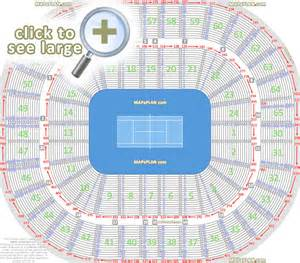 Rod Laver Floor Plan by Melbourne Rod Laver Arena Seat Numbers Detailed Seating