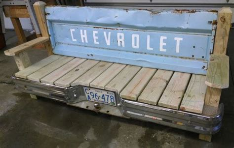 bench made from truck tailgate 349 best truck tailgate benches images on pinterest