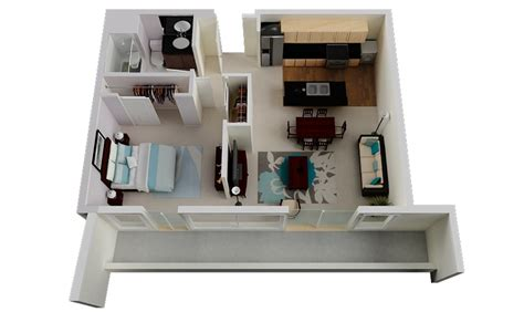 luxury 1 bedroom apartments 50 one 1 bedroom apartment house plans architecture
