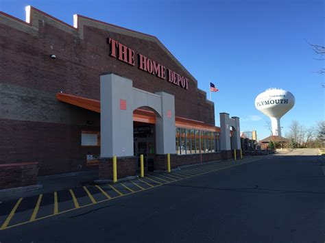 the home depot in plymouth mi whitepages