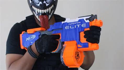 Nerf Hyperfire Orange Trigger blee author at nerf gun attachments