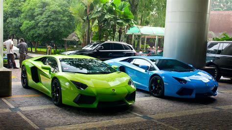 Hd Car Wallpapers 1080p Vs Green by Green And Blue Lamborghini Wallpaper 1080p Free Hd
