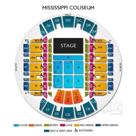 ms coast coliseum seating chart mississippi coliseum tickets mississippi coliseum