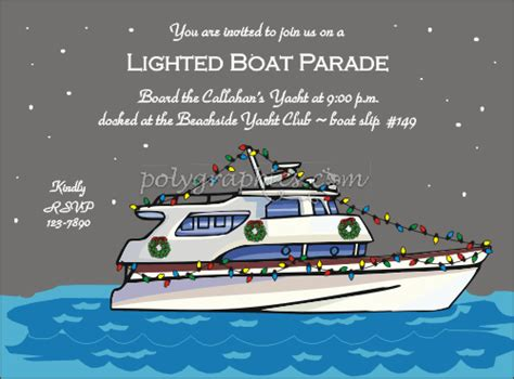 boat xmas party boat party invitations for christmas fun for christmas