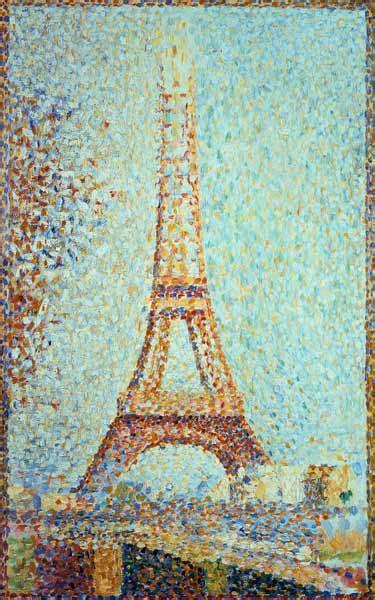 La Tour Eiffel De Seurat P 233 Piole 224 L 233 Cole