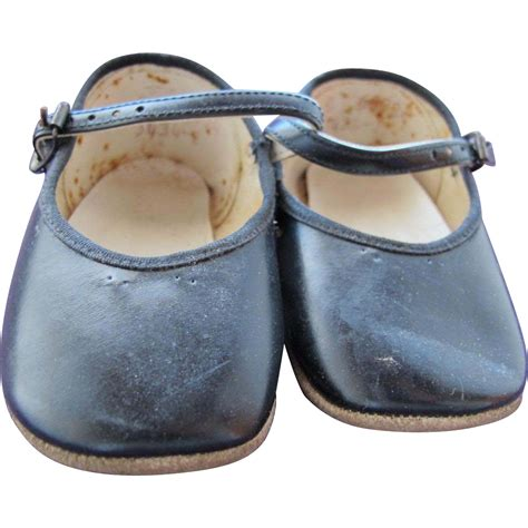 black doll shoes vintage baby doll shoes black leather free shipping from