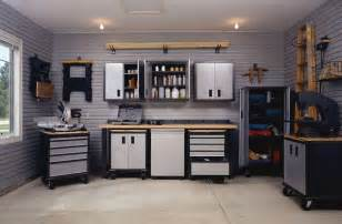 modern interior garage with storage cabinet design custom interior garage designs