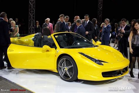 Ferrari 458 Details by Ferrari 458 Italia Spyder Details Emerge Edit Now