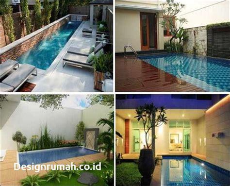 desain rumah yang ada kolam renangnya 100 contoh desain rumah dengan kolam renang di dalam