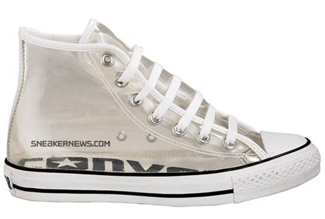 converse chuck taylor  star high  clear