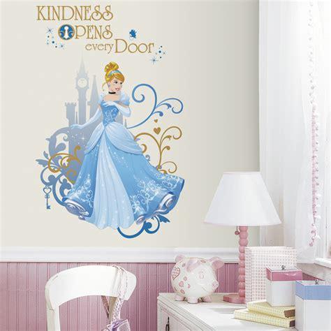 disney princess wall decals for rooms disney princess cinderella wall decals