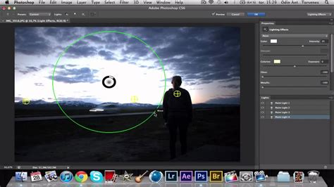 tutorial of adobe photoshop cs6 adobe photoshop cs6 tutorial lighting effects youtube