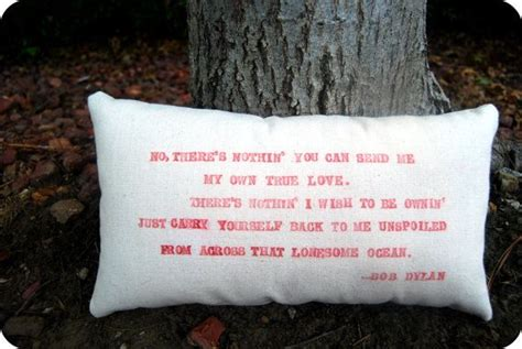 The Pillows One Lyrics by Customizeable Lyric Pillow Bob With Special