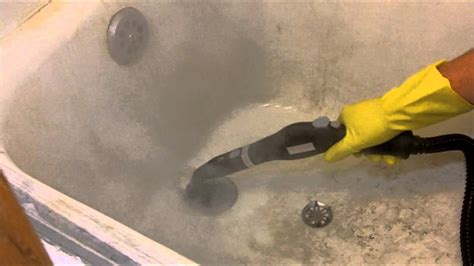 what to use to clean a dirty bathtub steam cleaning a filthy bathtub with the mcculloch mc 1275