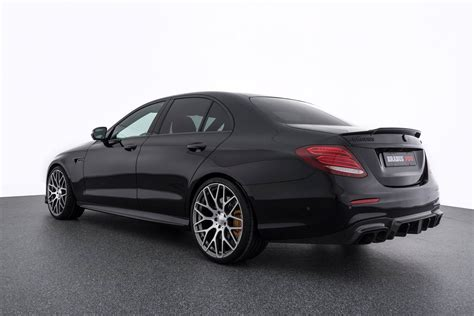 Brabus Mercedes by Brabus 700 Makes The Angry Mercedes Amg E63 S Even Angrier