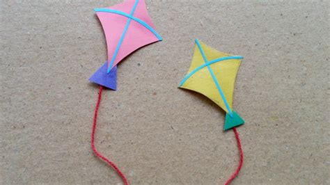 How To Make A Paper Kite - make miniature paper kites diy guidecentral