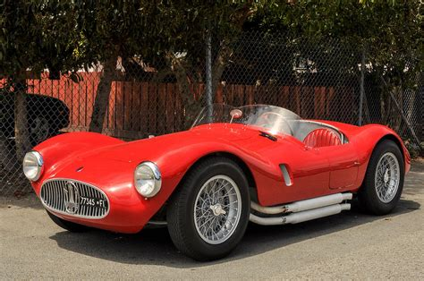 1953 Maserati A6gcs 53 Spyder Photograph By Classic Visions