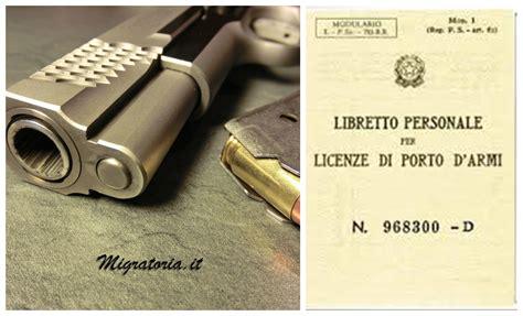 il porto d armi porto d armi