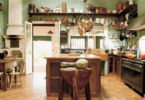 decoracion de cocinas campestres