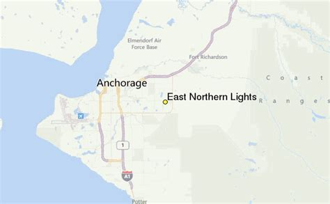 northern lights location map east northern lights weather station record historical