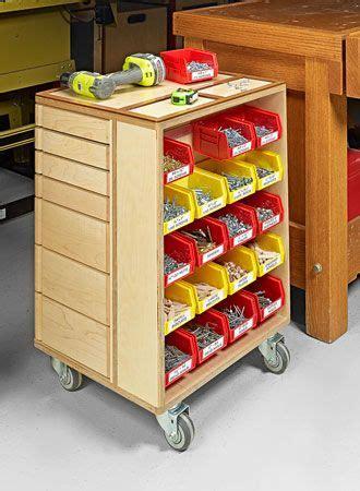 Caisse De Rangement En Bois 772 by Shop Storage Cart Woodsmith Plans Workbenches