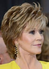 shag hair styles for 60 2014 jane fonda s short hairstyles shaggy pixie cut with