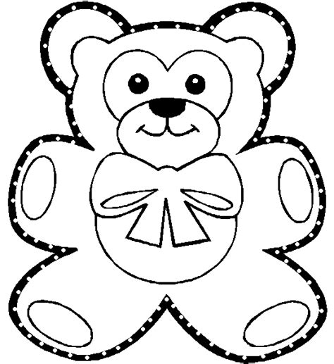cut out teddy template templates printable new calendar template site