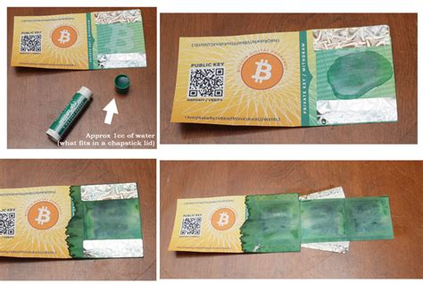 How To Make A Paper Wallet Bitcoin - bitcoin paper wallet generator print offline ter