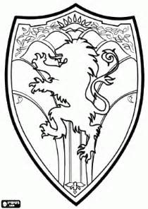 the shield of narnia coloring page lion witch amp wardrobe