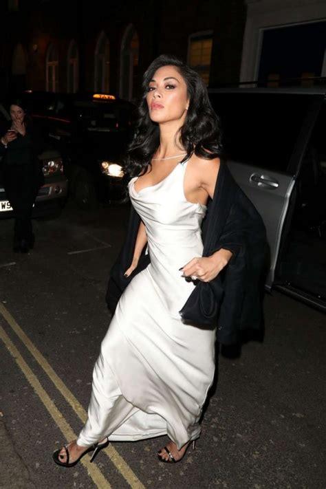 Whiens Dress Anak 03 scherzinger in white dress leaves restaurant