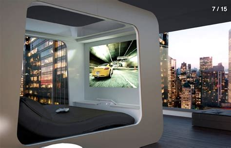 home theater bed power    high tech beds
